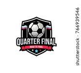 soccer logo sport  american... | Shutterstock .eps vector #766939546