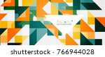 triangle pattern design... | Shutterstock .eps vector #766944028