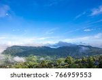 mist in the morning  surrounded ... | Shutterstock . vector #766959553