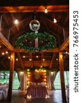 banquet hall or other function... | Shutterstock . vector #766975453