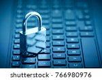computer security concept.... | Shutterstock . vector #766980976