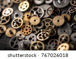 mechanical watch repairing... | Shutterstock . vector #767026018