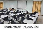 lassroom education background... | Shutterstock . vector #767027623