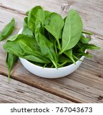 detox product. fresh spinach... | Shutterstock . vector #767043673