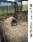 A Clay Bread Oven Of An Ancien...