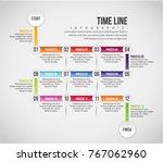 vector illustration of time... | Shutterstock .eps vector #767062960