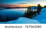 Crater Lake Just Before Sunris...