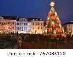 vilnius  lithuania   december... | Shutterstock . vector #767086150