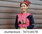 portrait of beautiful malaysia...   Shutterstock . vector #767118178