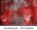texture of rusty iron. aged... | Shutterstock . vector #767118634
