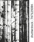 distressed overlay wooden... | Shutterstock .eps vector #767125084