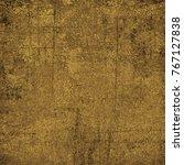 brown grunge background. dirty... | Shutterstock . vector #767127838