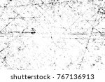 grunge black and white pattern. ... | Shutterstock . vector #767136913