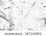 grunge black and white pattern. ...   Shutterstock . vector #767141893