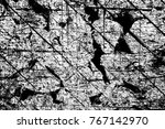 grunge black and white pattern. ... | Shutterstock . vector #767142970