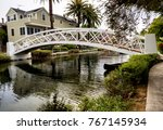 Venice Canals  White Bridge  ...