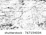 grunge black and white pattern. ... | Shutterstock . vector #767154034