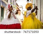 "brazilian women ""baianas"" with... 
