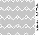 gray and white geometric print. ... | Shutterstock .eps vector #767175016