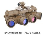 night military goggles optical... | Shutterstock . vector #767176066