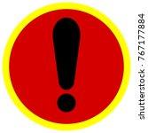 icon warning exclamation