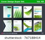set of design of business... | Shutterstock .eps vector #767188414