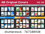 mega set of design of business... | Shutterstock .eps vector #767188438