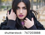 street fashion concept.... | Shutterstock . vector #767203888