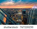 philadelphia aerial perspective ... | Shutterstock . vector #767220250