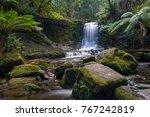 horseshoe falls in mount field... | Shutterstock . vector #767242819