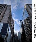cityscape in hong kong | Shutterstock . vector #767243179