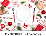 Festive Table Setting With...