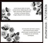 romantic invitation. wedding ...   Shutterstock .eps vector #767258326