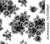 abstract elegance seamless... | Shutterstock .eps vector #767258869