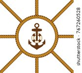 sailor lasso rope vector art | Shutterstock .eps vector #767260528