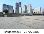 empty city square road and...   Shutterstock . vector #767279803