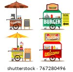 vector illustration collection... | Shutterstock .eps vector #767280496