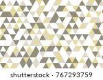 gray white grid mosaic...   Shutterstock .eps vector #767293759
