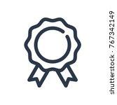 award icon  sign vector...
