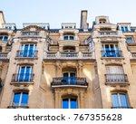 paris  france  on october 27 ... | Shutterstock . vector #767355628