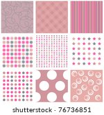 Pink Seamless Patterns