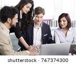 business people working | Shutterstock . vector #767374300