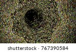 wide format abstract background ... | Shutterstock .eps vector #767390584