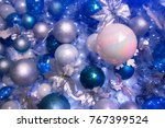 christmas tree toy   Shutterstock . vector #767399524