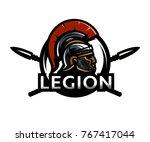 a warrior of rome  a legionary  ...   Shutterstock . vector #767417044