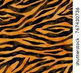 Tiger Black Yellow Orange Brown ...