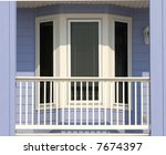 The Front Porch Area Of A...