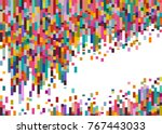 abstract background composed of ... | Shutterstock .eps vector #767443033