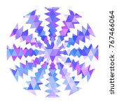 color snowflake for christmas... | Shutterstock .eps vector #767466064