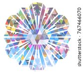 color snowflake for christmas... | Shutterstock .eps vector #767466070